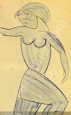 brancusi drawings - Google Search