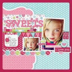 #scrapbook page by polly