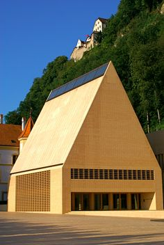Join buildyful.com - the global place for architecture students.~~Parliament building in Liechtenstein
