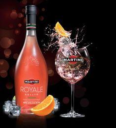 Martini Royale: Ready to serve!