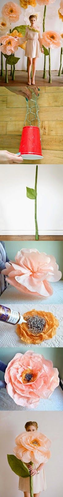 Giant Tissue Flower