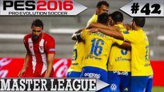 PES 2016 Master League #42 Las Palmas x Sevilla