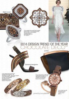 #2016 Brown gems and fashion accessories update #Luxurydotcom