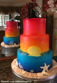 "Design W 0712 | Butter Cream Wedding Cake | 10""+8""+6"" 