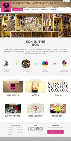 SOX IN THE BOX WEB SITE
