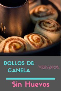 Rollos de canela sin huevo, apto para veganos. Disfruta estos ricos rollitos hechos en casa, calentitos y suavecitos.   #rollosdecanela#rolldecanela#cinnaroll#canela#rollitosdecanela#postres#desayuno#food#recipesfood#recetas#recetasfaciles#pinterest#instafood#postrescaseros#receravegana#recetasveganas#rollosdecanelaveganos#rollosdecanelasinhuevos Wraps, Breakfast, Vegan Cinnamon Rolls, Easy Desserts, Home Made, Vegan Recipes, Egg