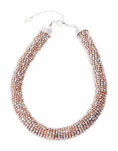Collar beads bicolor