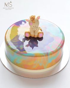 "Good day to you! I hope you have a good time this summer. I want to post my unicorn cake from the last video. Making of these unicorns is my favorite thing right now. I hope you like it too. This unicorn reminds me cartoon ""My little pony"". All our family likes to watch it. My favorite characters are Rainbow Dash and mrs. Cupcake. Did you saw that cartoon? Who is your favorite hero? Advise me you favorite cartoons. Thanks for ❤️ Всем привет. Спасибо за ваши ❤️ и внимание. Я тут ре..."