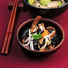 Sprossensalat mit Algen Rezept   Küchengötter