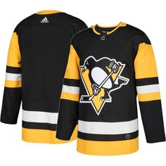 adidas Men's Pittsburgh Penguins Authentic Pro Home Jersey, Size: 46, Team