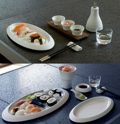 Hering Berlin Pulse for sushi Dinnerware | Artedona.com