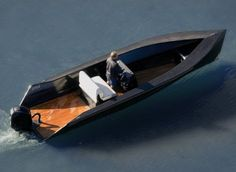 Small Carbon Tender for both Lake and Sea  Developed by German firm SAY Yacht, the SAY-Power is a small carbon tender that is designed to cut through both the waters of the lake or the sea. A Weber Jet outboard motor that delivers 140 horses pushes the sleek boat through the water at a top speed of 35 knots.
