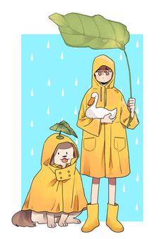  Be the angel in someone's life . Cute Illustration, Character Illustration, Cute Art Styles, Estilo Anime, Korean Art, Human Art, Boy Art, Cute Characters, Pretty Art
