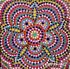 Original handmade mandala paintings acrylic on canvas DIY fashion design art Handegemalte Acrylbilder auf Leinwand Kunst Esoterik Wandschmuck Wohndekor Mode yoga inspiration meditation crazylovemandala
