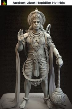 Lord hanuman wallpaper by - 23 - Free on ZEDGE™ Ancient Aliens, Ancient Art, Ganesha, Ganesh Lord, Lord Vishnu, Nephilim Giants, Lord Hanuman Wallpapers, Hanuman Chalisa, Yoga Lyon