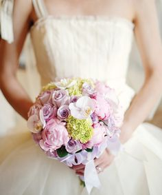 Spring Inspired wedding bouquet