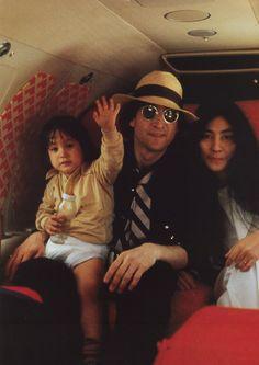 Sean, John, Yoko