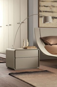 Not ideal but not awful Contemporary style lacquered wooden bedside table Ice Letti_beds Collection by Presotto Industrie Mobili Bedside Table Design, Wooden Bedside Table, Bedside Tables, Design Furniture, Bedroom Furniture, Bedroom Decor, Furniture Makers, Furniture Online, Furniture Stores