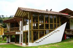 CASA BAMBÚ Casas verdes. Zuarq. Construcciones Guadua Bambú