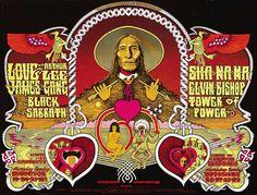 Love/Arthur Lee/James Gang/Black Sabbath