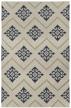 Genevieve Gorder's Sno Rug in Bokrum Blue