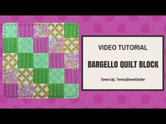 Video tutorial: Quick and easy bargello quilt block – Sewn Up