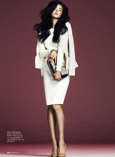 Loving the return to minimalism.  Jay Shin by Andrew Yee for Elle Vietnam Feb 2012 issue