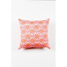 Floral Cushion - pink and orange.