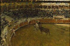Marià Fortuny - La corrida de toros, 1869 - Museo del Prado