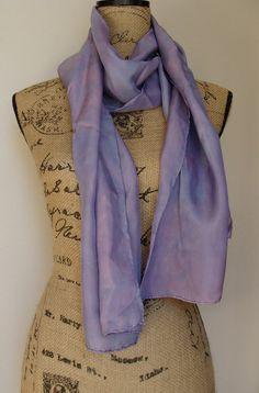 OOAK Haboti Silk Scarf Naturally Dyed with by lochlomondstudio, $20.00