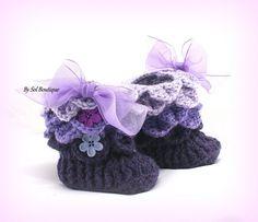 712 Besten Baby Schuhe Häkeln Bilder Auf Pinterest In 2019 Crochet