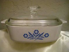 Corning Ware A-1-B Casserole Dish in the by WHISTLESTOPTRAINSHOP