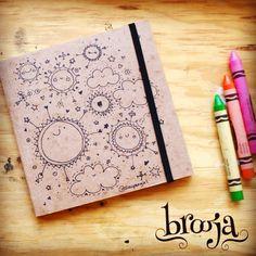 Artículo Único  Sketchbook  Formato: 15x15 cm 72 hojas  Papel bond ahuesado 90…