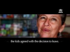 Roberto feared that his children would be forcibly recruited by the armed groups that occupied his town. The family left their farm and everything behind to start a new life in the city.  No one chooses to be a refugee. You can help: http://takeaction.unhcr.org