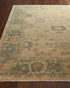 Shelton Oushak Rug by Exquisite Rugs at Neiman Marcus.