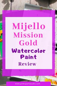Learn about Mijello Mission Gold watercolor paints. Watercolor Journal, Gold Watercolor, Watercolor Tips, Watercolour Tutorials, Watercolor Techniques, Watercolour Painting, Step By Step Watercolor, Colors For Skin Tone, Watercolor Pictures