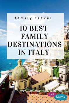 Italian ex-pat gives her tips on the best places to holiday in Italy with the family! It includes beautiful places to go, a guide and itinerary and more on Italy travel! #italy #italytravel #familytravel #britmums Italy Holiday Destinations, Family Destinations, Amazing Destinations, Great Places, Beautiful Places, Places To Visit, Italy Holidays, Travel Goals, Days Out