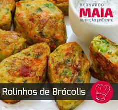 """148 curtidas, 9 comentários - Nutricionista Bernardo Maia (@nutricionistabernardomaia) no Instagram: """"Esta semana trago mais uma receita saudável, bolinhos de brócolis. Eles são saborosos e podem ser…"""""""