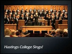 The Hastings College Choir, under the direction of Dr. Fritz Mountford, sings a contemporary a cappella setting by Glen Rudolph of a medieval text for A Fest. Christmas Music, A Christmas Story, William Billings, Hastings College, Sweet Hour Of Prayer, Presbyterian Church Usa, Sing In Spanish, Dave Brubeck, We Are Festival