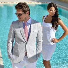In Spring we can afford to smarten up a bit and make the colours we're wearing that little bit more lively.  @Gagliardi