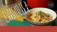 Espaguete à Carbonara - Receitas que Brilham! Porque nós amamos massa!