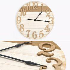 Relógio Madeira 81,5 cm | referência 74070190 | A Loja do Gato Preto | #alojadogatopreto | #shoponline