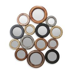 14-Circle Decorative Mirror - BedBathandBeyond.com
