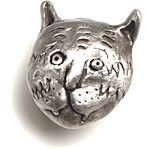 Sweetheart Gallery: Contemporary Craft Gallery, Fine American Craft, Art, Design, Handmade Home & Personal Accessories - Rosalie Sherman Knob Medium Cat Slinky, Artistic Artisan Designer Cabi