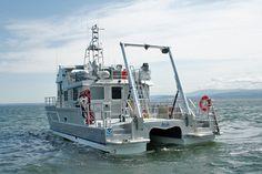48′ R/V AUK - All American Marine | Aluminum Catamarans | Aluminum ...