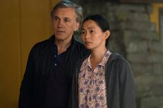 Christoph Waltz and Hong Chau in Downsizing (2017)