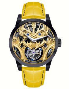 La montre Bumblebee par Memorigin