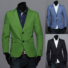 Fashion Two Buttons Blazer