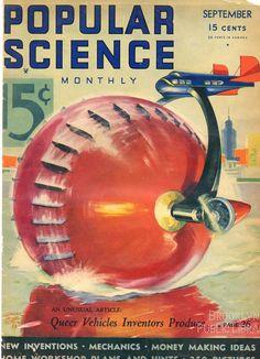 Popular Science Magazine 1930's Cover Page - http://longstreet.typepad.com/.a/6a00d83542d51e69e20148c6c3a150970c-800wi