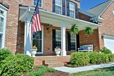 Enjoy the breezes on the front porch!